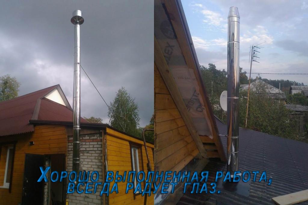 Цены на дымоходы в Киеве | купить дымоход в Киеве | продажа дымоходов в Киеве