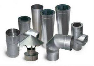 Трубы и элементы с оцинкованной стали